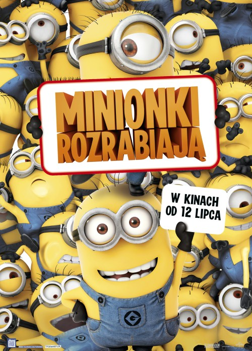 Cinema City Minionki rozrabiaja