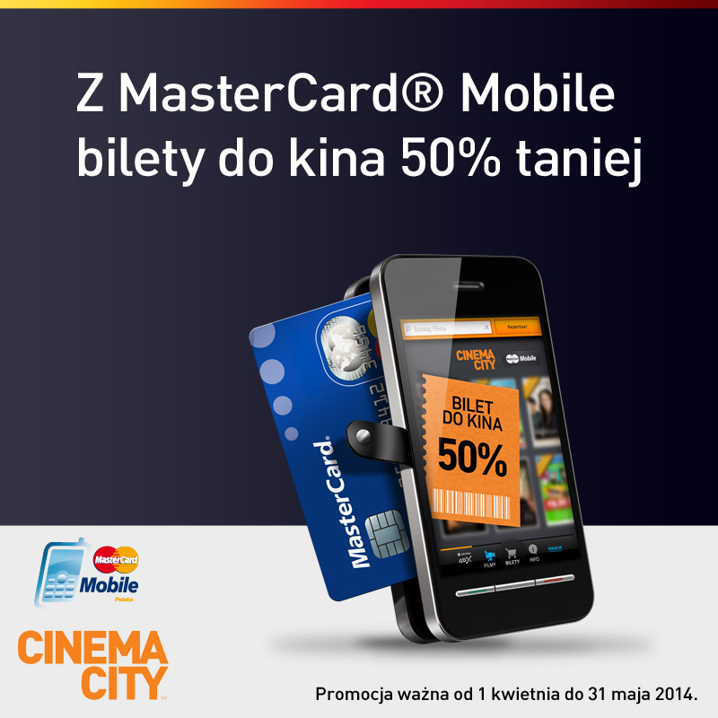 Cinema City z Mastercard