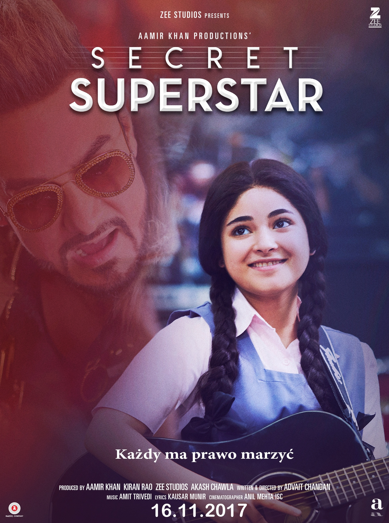 Secret Superstar Plakat