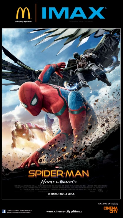 Spider-Man Homecoming IMAX PlakatA
